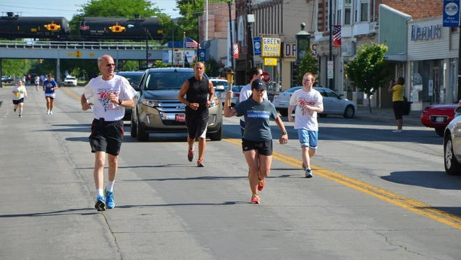 The Law Enforcement Olympic Torch Run returns to downtown Port Clinton on Sunday with Special Olympics athletes, their supporters and law enforcement personnel from across the