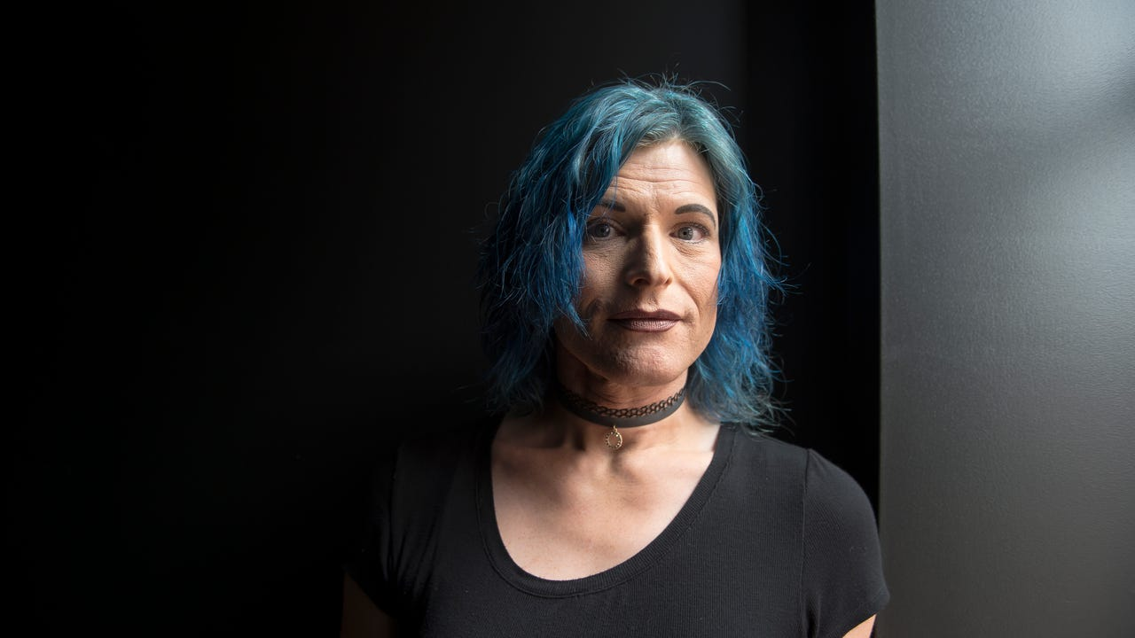 Brianna Grazyna, 44, of Hanover, came out as a transgender woman in 2014 after struggling for years with her true identity.