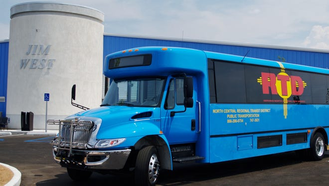 Starting in 2018, a North Central Regional Transit District bus will transport Jicarilla Apache Nation residents from Dulce to both Farmington and Chama.