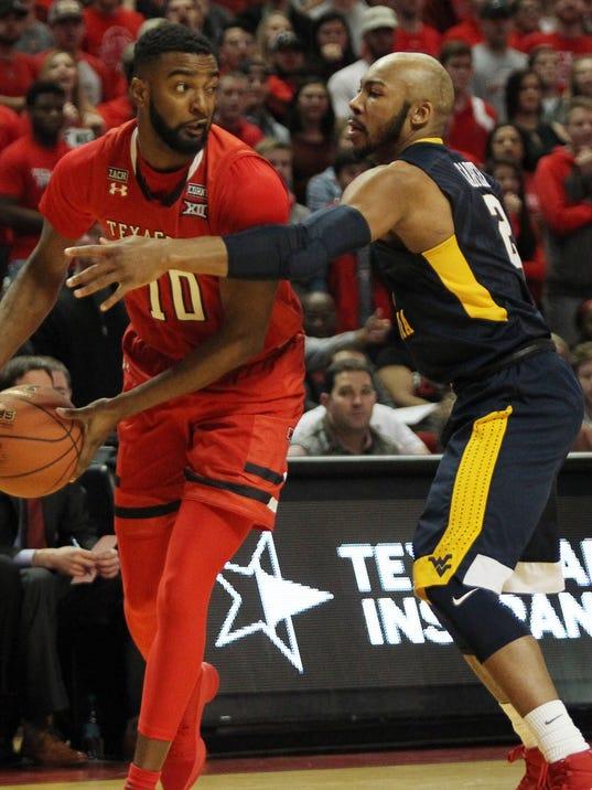 USP NCAA BASKETBALL: WEST VIRGINIA AT TEXAS TECH S BKC TXT WVA USA TX