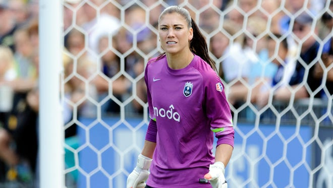 U.S. Soccer President Sunil Gulati says there is a possibility Hope Solo will be unable to compete in this summer's World Cup.