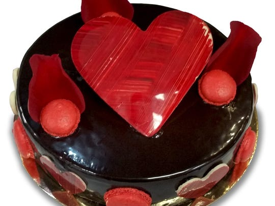 L'amour cake from Sook Pastry in Ridgewood.
