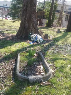 The grave of Thomas Moss, who was killed by a white mob on March 9, 1892, is located at Zion Christian Cemetery in Memphis. The death of Moss and two others was remembered Thursday, March 9, 2017, on the 125th anniversary of their deaths.