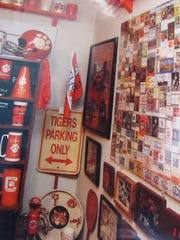 Tony Stephens, 65, has collected Clemson football momentoes