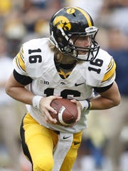 Iowa quarterback C.J. Beathard threw for 245 yards