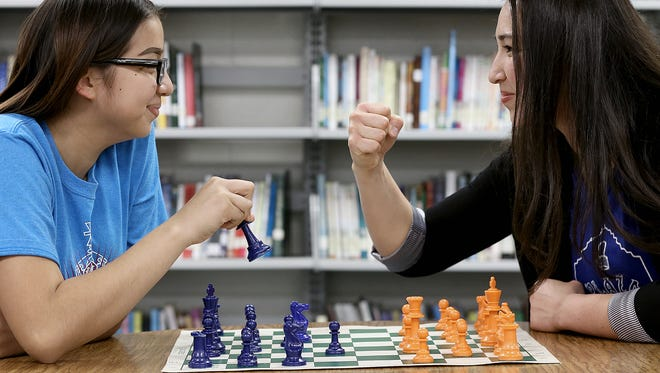 Henderson Middle School national chess champion Aileen Martinez faced off against IBF World Featherweight Champion Jennifer Han at the 14-year-old's former school. The city of El Paso touted the success of El Pasoans in its campaign to become an All-America City for 2018.