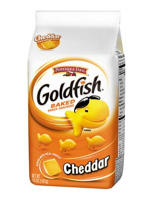 Goldfish crackers by Pepperidge Farm
