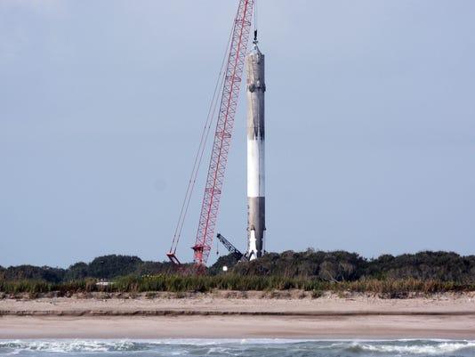 SpaceX Falcon 9 lnding