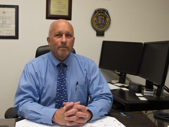 Poughkeepsie city Police Chief Thomas Pape has worked