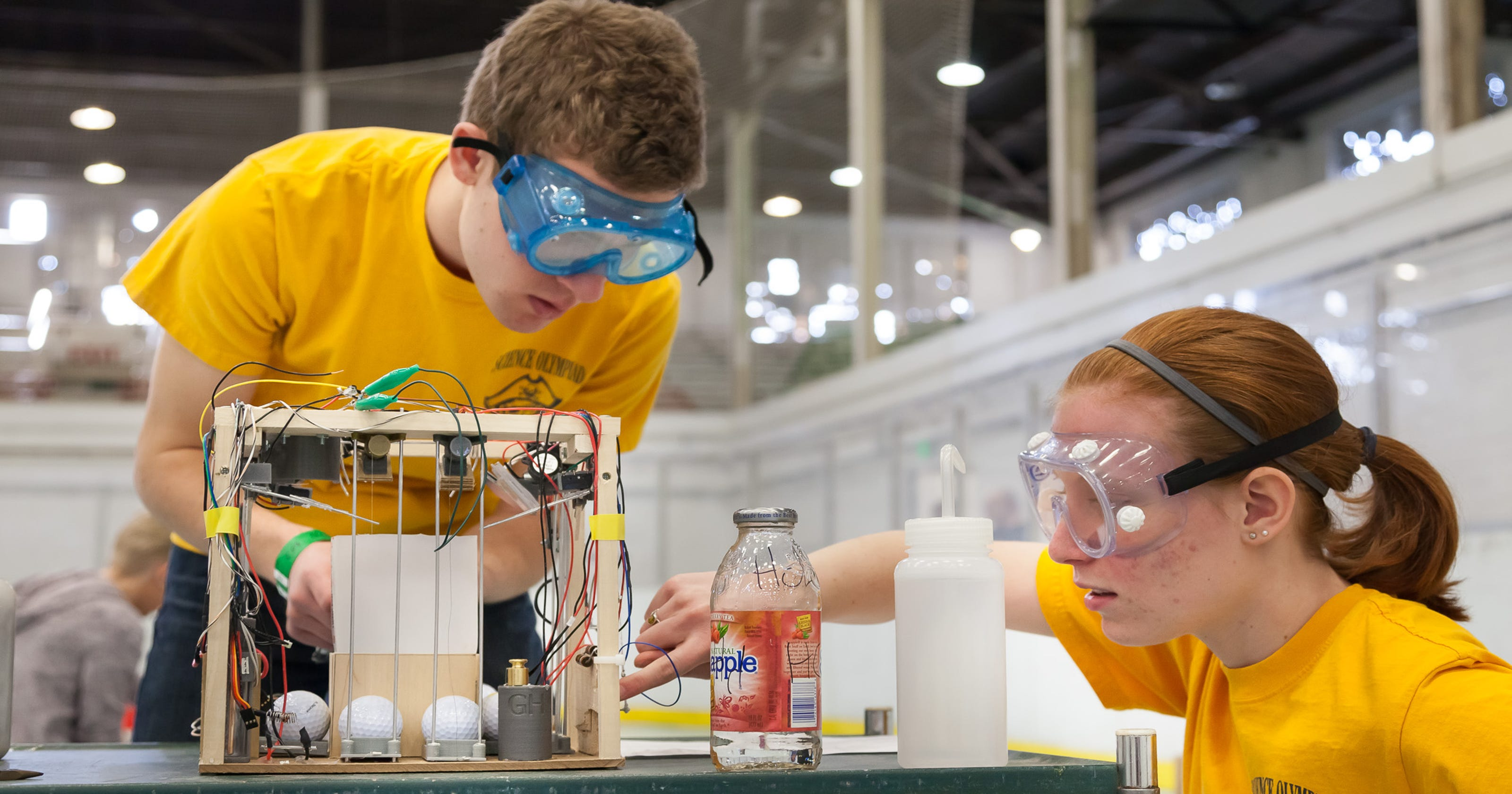Local teams advance to State Science Olympiad
