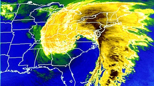 """It's the 22nd anniversary of the 1993 """"Storm of the Century"""""""