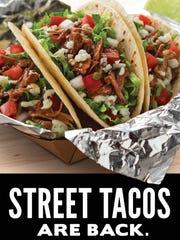 Taco John's introduced street tacos this year.