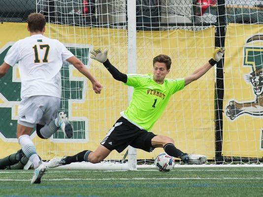 Albany vs. Vermont Men's Soccer 10/07/17