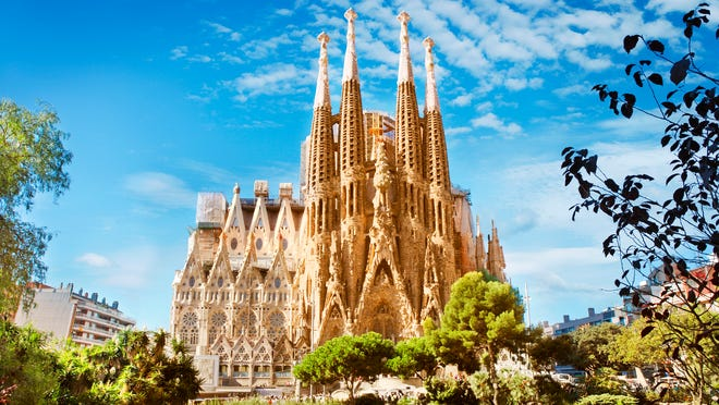 Sagrada Familia See Beautiful Photos Of The Barcelona Landmark