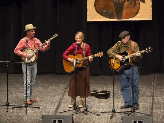 Buckners and Howell at Lunsford Festival 2014