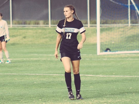Moorpark College sophomore Rachel Herman is the 2016 Western State Conference North Division women's soccer co-Player of the Year. The Simi Valley High graduate was the leader of a defense that allowed just four goals in 10 WSC North matches.