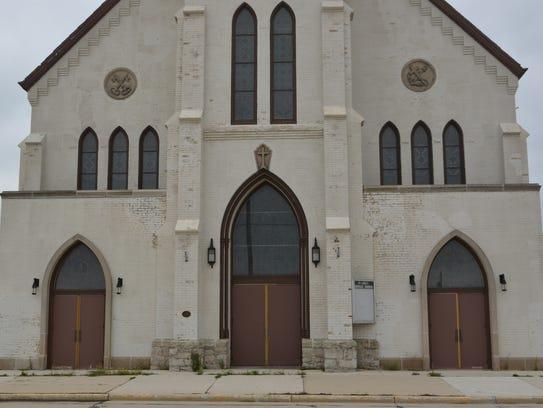 Built in 1891, the former St. Lukes Catholic church