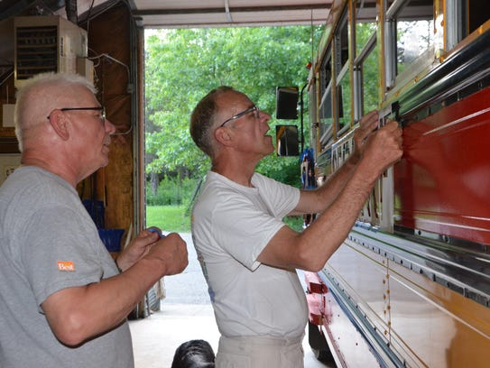 Brothers Dan Crandell (left) and Tom Crandell, co-proprietors