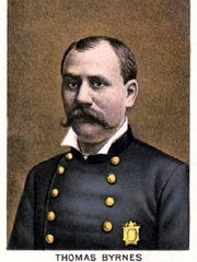 Inspector Thomas Brynes, from a New York Times engraving.