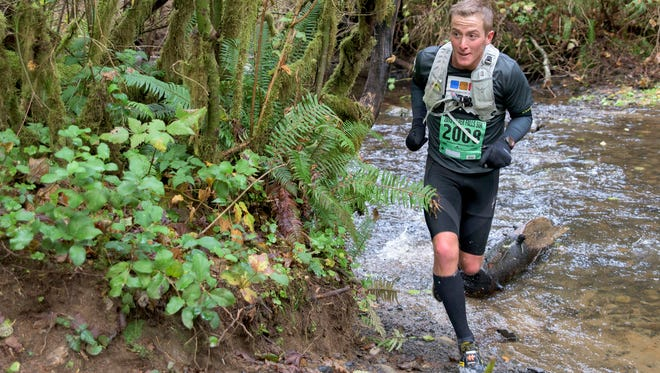 Michael Traeger, of Silverton, won the 50K. More than 2000 runners participated in the Silver Falls Trail Runs at Silver Falls State Park on Nov. 7 and 8.