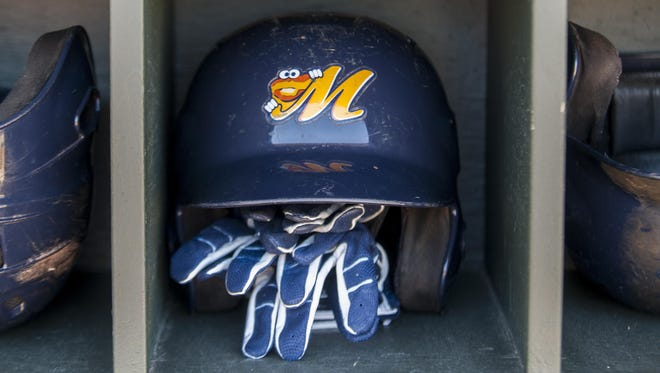 The Montgomery Biscuits hold practice at Riverwalk Stadium in Montgomery, Ala. on Tuesday April 5, 2016.