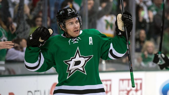 Dallas Stars left wing Ray Whitney, who has 382 career goals, would like to play until he scores 400.