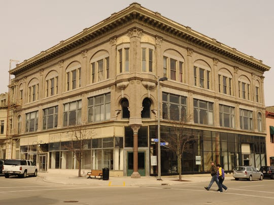 File -Schuette Building at 804 Jay St., downtown Manitowoc.