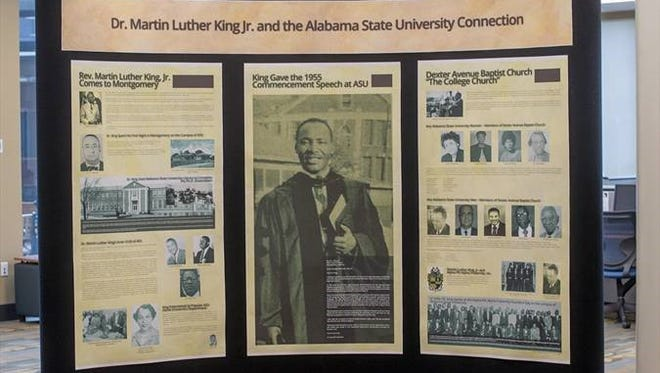 A new display opens at ASU featuring Dr. Martin Luther King's connection to the campus.  Open now through September.