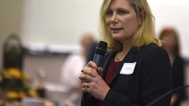 Lisa Estep has stepped down from her position as chairwoman of the New Hanover County Board of Education.