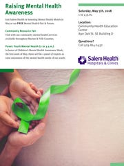 Salem Health is hosting its Mental Health Fair and