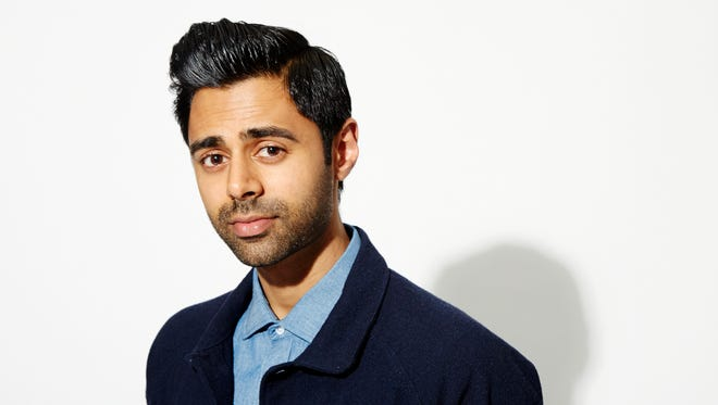 """FILE - In this Oct. 12, 2015, file photo, Hasan Minhaj poses for a portrait in New York. Minhaj, a correspondent with Comedy Central's """"The Daily Show,"""" is coming to a home near you with his one-man show """"Homecoming King."""" The comedian will kick off a North America tour this summer, starting Aug. 19, 2016, in Portland, Ore. (Photo by Dan Hallman/Invision/AP, File)"""