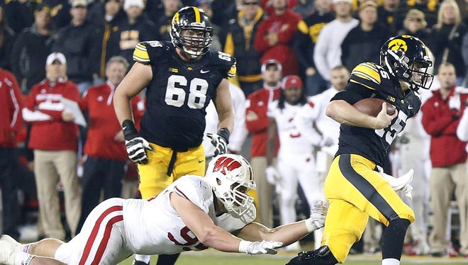 Brandon Scherff (No. 68) named all-American