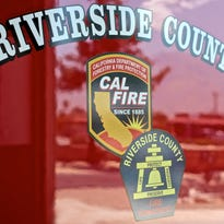 Fire personnel responded to a Palm Desert house Tuesday morning that had been hit by a car.