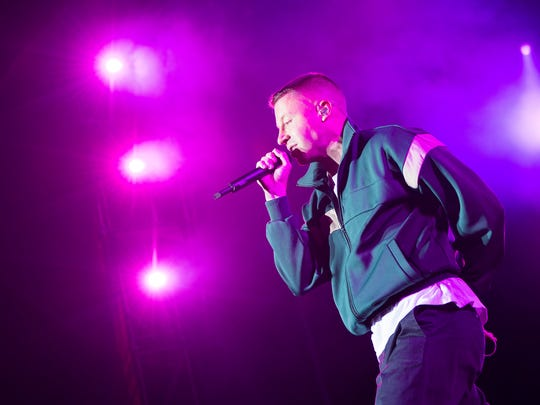 Macklemore's latest album 'Gemini' is available Friday.