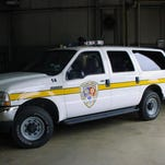 Blackman Township Public Safety vehicle