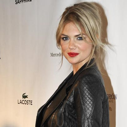 Kate Upton, shown in this 2013 file photo, has been