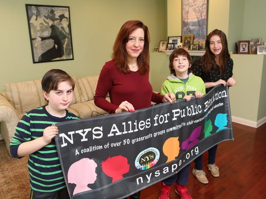 Lisa Rudley opted two of her kids out of the April