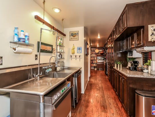 The professional grade pantry of the 15-acre Flanigan estate at 2750 Holcomb Ranch Lane south of Windy Hill.