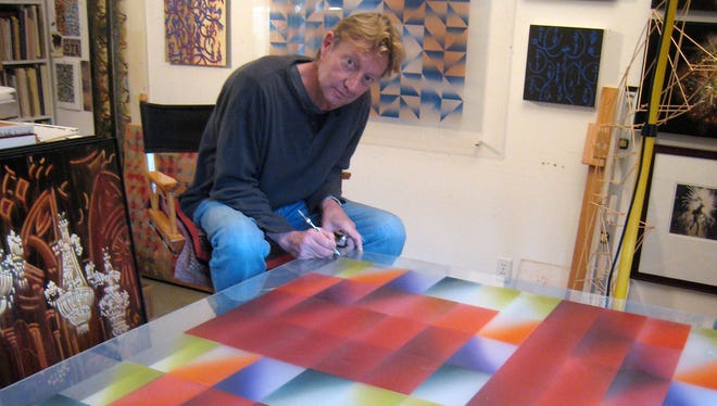Richard Amend will be one of more than 50 artists who open their studios for the Ojai Studio Artists Tour on Oct. 8-10.