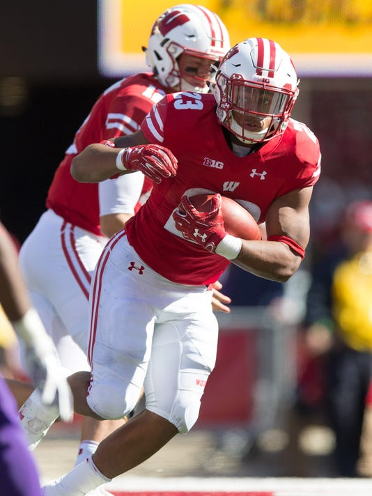 NCAA Football: Northwestern at Wisconsin