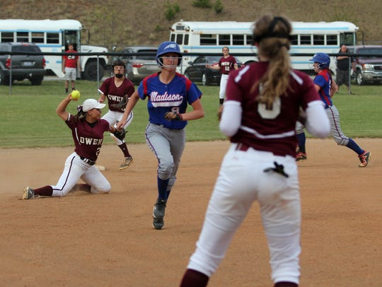 Olivia Presley's athleticism is on display as she throws
