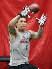 Chris Moore set a UC record with 26 career touchdown