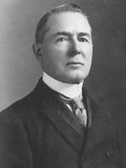 F.M. Hubbell, founder of Hubbell Realty Co., made his