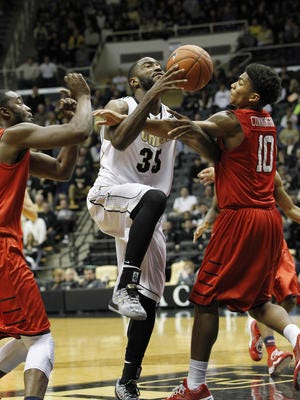 Rapheal Davis and Purdue are still waiting for their first real challenge on defense.
