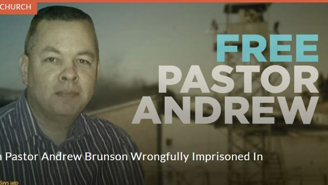 Black Mountain native Andrew Brunson has been arrested in Turkey and charged with being a member of a terrorist organization. The American Center for Law and Justice, whose website is pictured here, has started a petition drive to have Brunson freed.