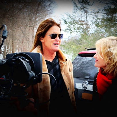 Bruce Jenner  and Diane Sawyer.