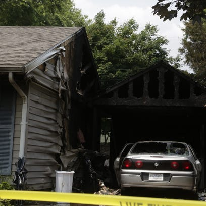 A house fire on Brady Lane destroyed a home and killed