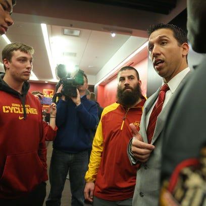 Iowa State University's new head football coach Matt