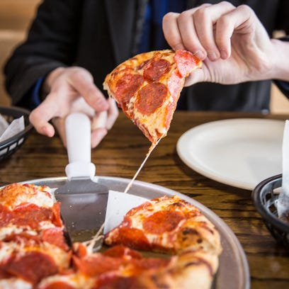 RP's Pizza at 1700 N. Wheeling Ave. offers handmade
