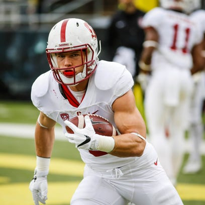 First round: RB Christian McCaffrey, Stanford -- With